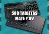 500 Tarjetas MateUV