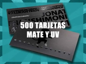 tarjetas mate y uv