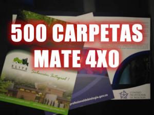 CARPETAS 4X0 MATE